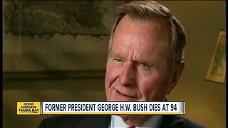 Former President George H.W. Bush has died - Video