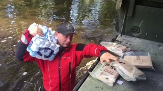 Pasco Sheriff's Office Delivers Food and Water to Flooded Locals - Video