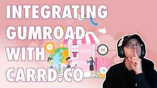 How To Integrate Gumroad Products With Your Carrd Website?   Multi-Digital Product Store In 24 Hours