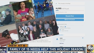 Arizona officer needs help this holiday season - Video