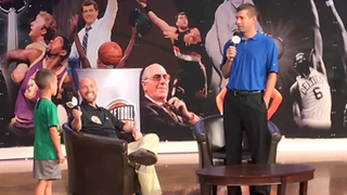 Kid Asks Celtics Coach Why He Traded Isaiah Thomas - Video