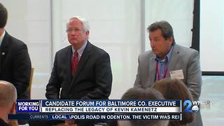 Candidate Forum For Baltimore CO. Executive - Video
