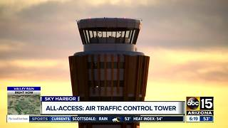 Inside look at Sky Harbor Airport's air traffic control tower - Video