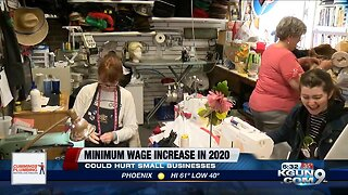 Minimum wage increase in Arizona