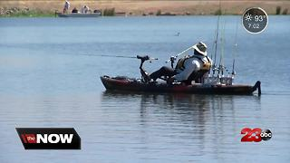 Veterans in Kern County find peace on the water with non-profit - Video