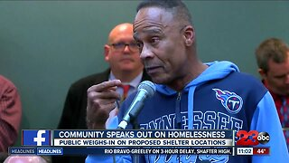 Bakersfield residents sound off at least community meeting addressing homelessness