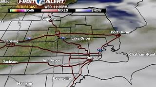 Light showers possible this afternoon - Video