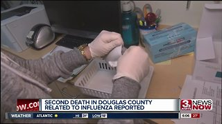 Second flu related death in Douglas County