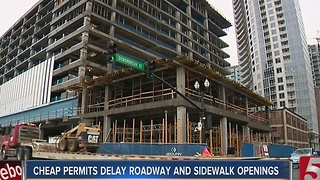 Cheap Permit Fees Keep Walkways Closed