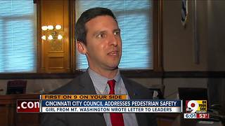City Council talks pedestrian safety