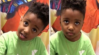 What A Cutie! Cute Kid Throws Tantrum Over Being Called Cute