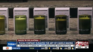 Tulsa company elevates the art of candle making