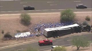 Bud Light truck involved in Tempe crash - Video