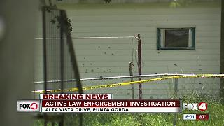 Active Investigation in Punta Gorda - Video
