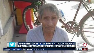 Man passes away after brutal attack in Arcadia