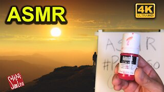 ASMR Inspirational Quote Painting with Nature Sound
