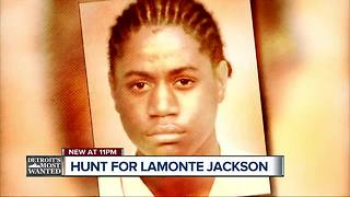 Detroit's Most Wanted: Lamonte Jackson wanted in connection with shooting