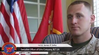 1st Lt. James Salka Awarded Bronze Star For Actions In Afghanistan For Actions During Combat - Video