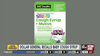 Dollar General natural baby cough syrup recalled due to vomiting, diarrhea risk