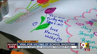 Vigil for school shooting victims