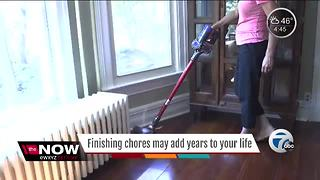 Ask Dr. Nandi: How doing chores can help you live longer - Video
