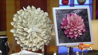 Blend Extra: Beautiful DIY Paper Home Decor - Video
