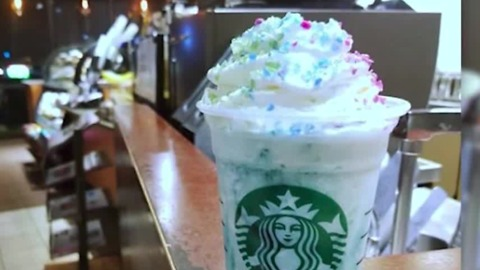 Starbucks releases Crystal Ball frappuccino