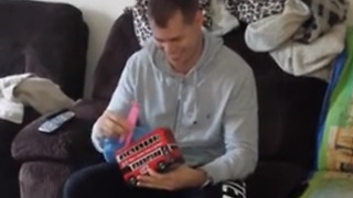 Man Has Best Reaction To Finding Out He's Going To Be Dad For First Time - Video