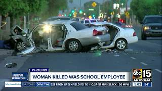 Victim identified as teacher in deadly Phoenix crash - Video