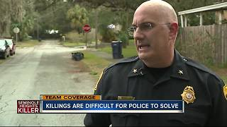 Recent murders in Seminole Heights difficult for police to solve - Video