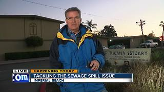 Tackling the sewage spill issue