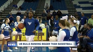 UB men's basketball earns first national ranking in program history