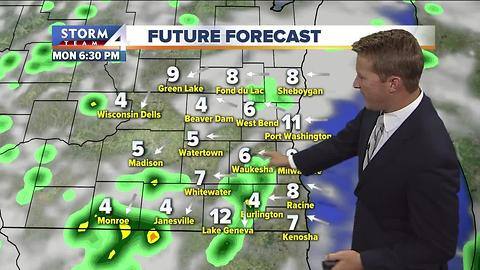 Brian Niznansky's Monday afternoon Storm Team 4cast