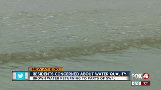 Residents Concerned About Water Quality