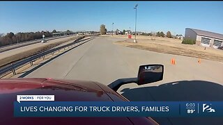 Lives changing for truck drivers and their families