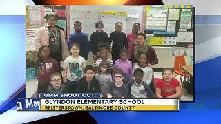Good morinng from Glyndon Elementary School!