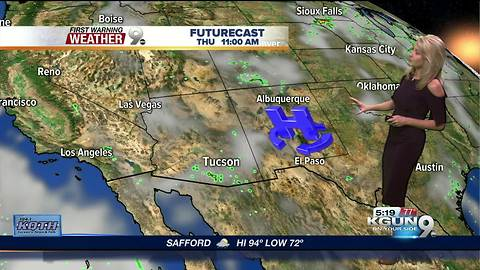April's First Warning Weather August 16, 2018