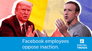 Facebook employees are rebelling against Zuckerberg's inaction over Trump