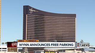 Wynn Las Vegas announces free parking for patrons - Video