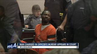 Man accused of killing MPD officer pleads not guilty - Video