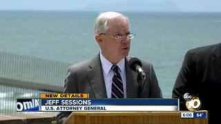 AG Jeff Sessions visits U.S.-Mexico border - Video