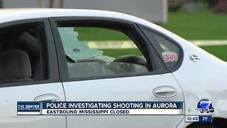 Rush-hour shooting critically wounds woman, shuts down Aurora street - Video