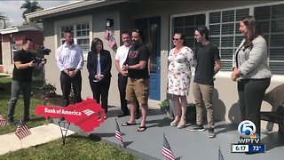 Army veteran receives free home