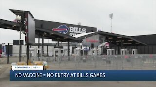 No vaccine, no entry at Bills, Sabres game this fall