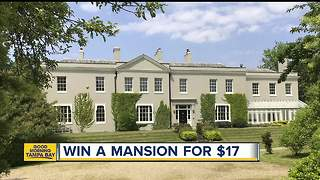 You could win this $8.2 million mansion for $17 - Video