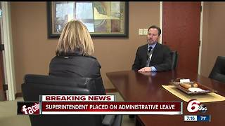 Carmel Clay Schools superintendent placed on administrative leave - Video