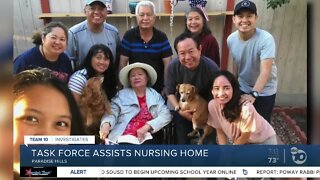 Most residents at a San Diego nursing home have COVID-19