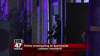 Lansing Township Police react to potential shooting