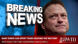Gary Sinise, Who Has Spent His Career And Money Helping Veterans, Just Received Amazing News - Video
