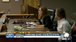 Council to weigh concealed carry permit bill - Video